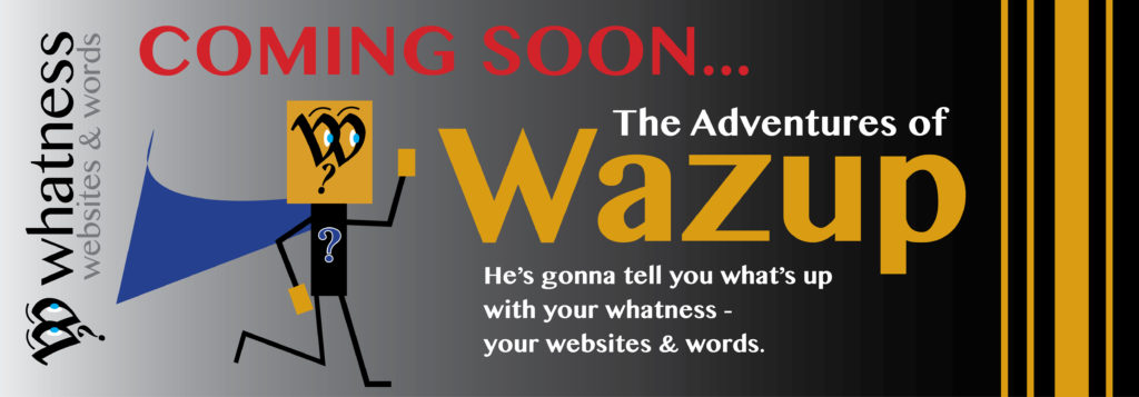Image of Coming Soon - Adventures of Wazup