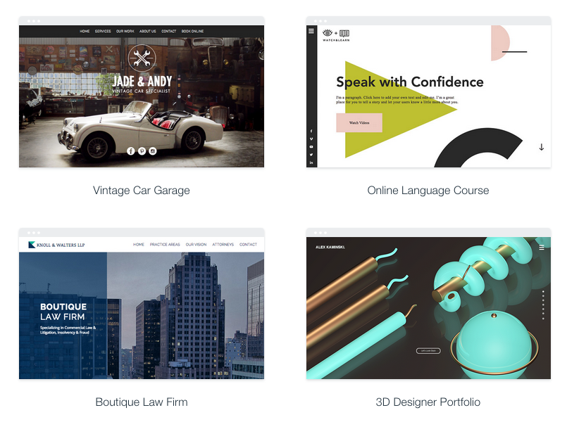 Image of wix-theme-examples
