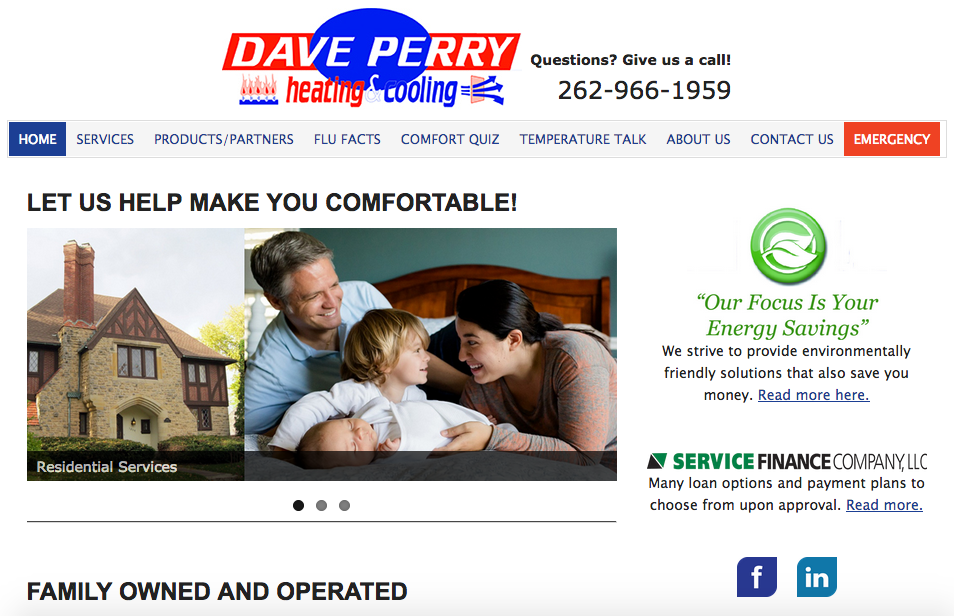 Image of Dave Perry Heating and Cooling
