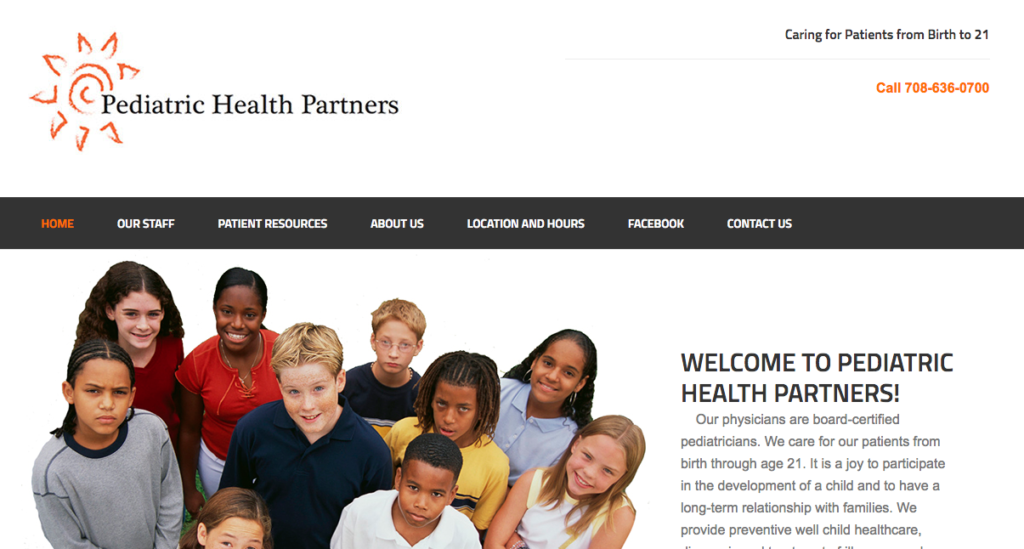 Imaeg of Pediatric Health Partners